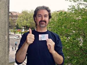 Hungarian Residence Visa Card